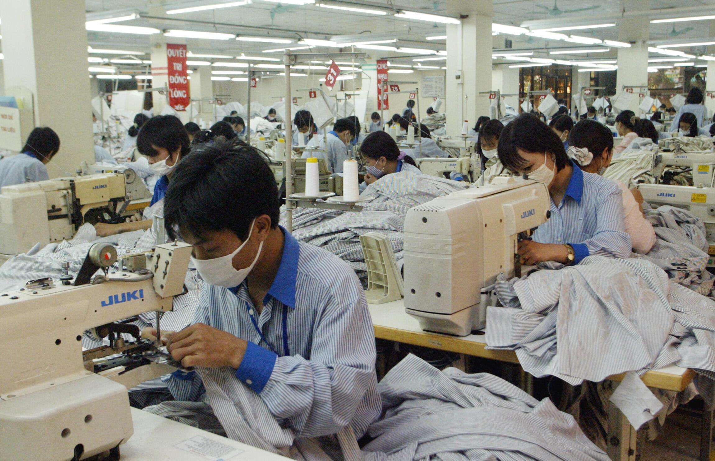 Vietnam - usine - textile