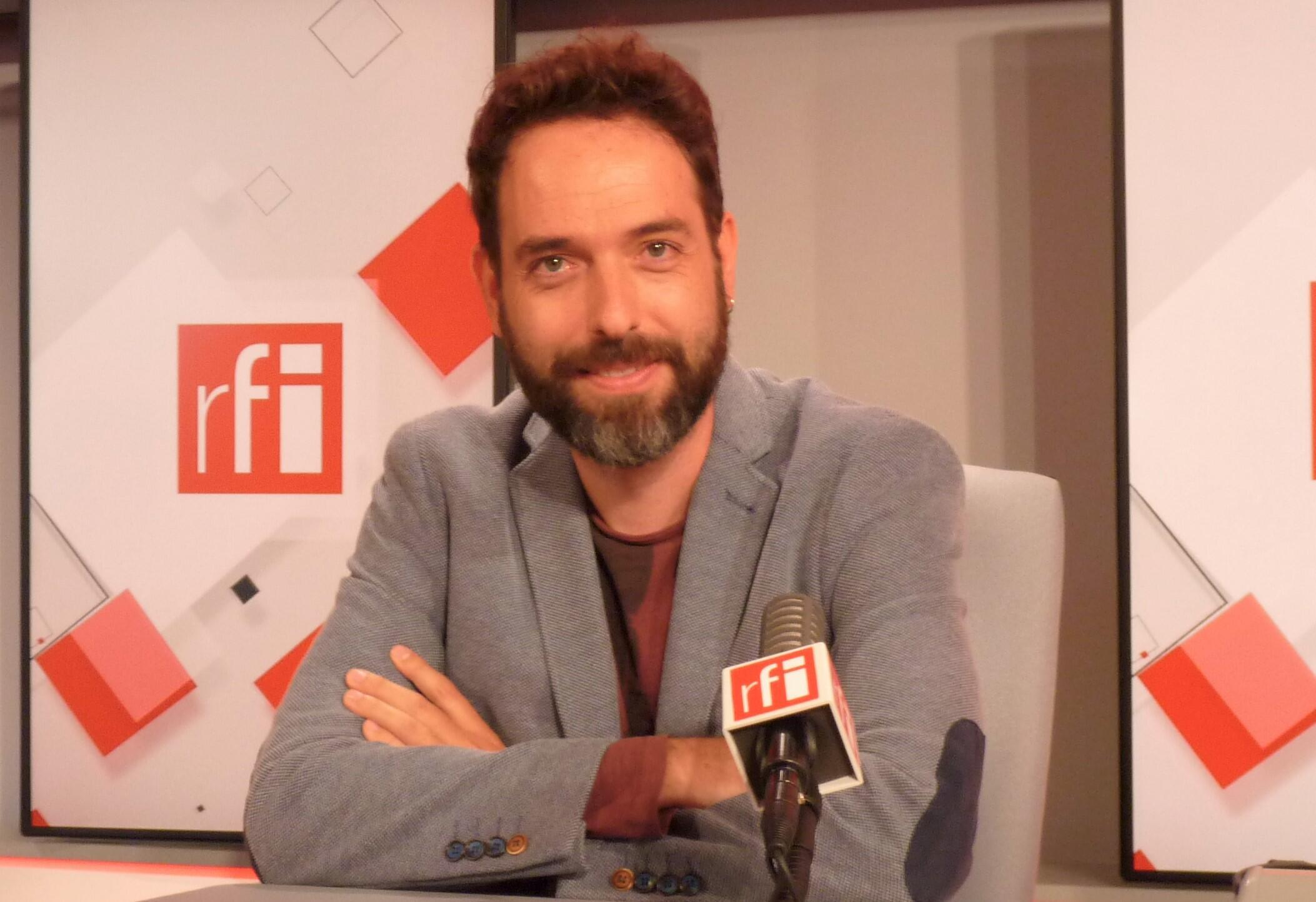 Pablo Martín Sánchez en RFI