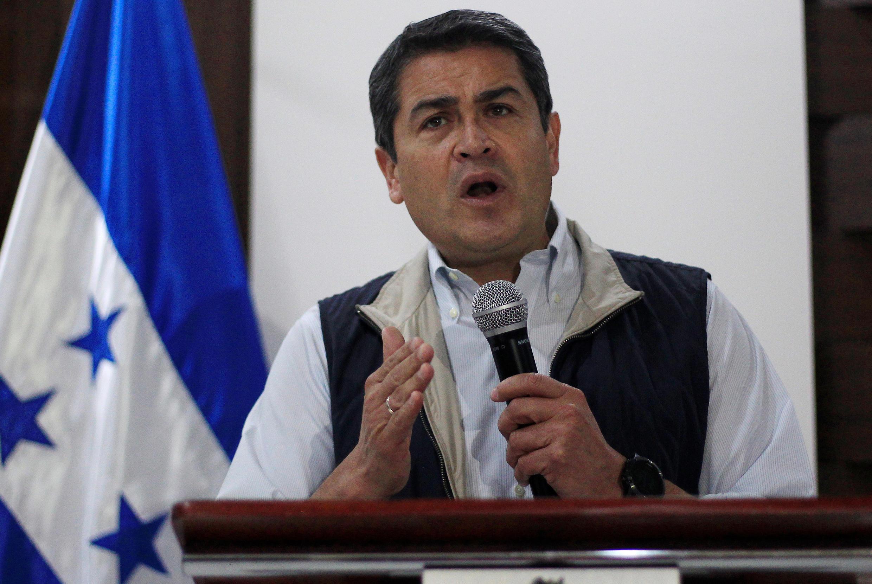 O presidente Juan Orlando Hernández esta prestes a ser reeleito em Honduras ao fim da contagem dos votos da eleição de 26 de novembro.