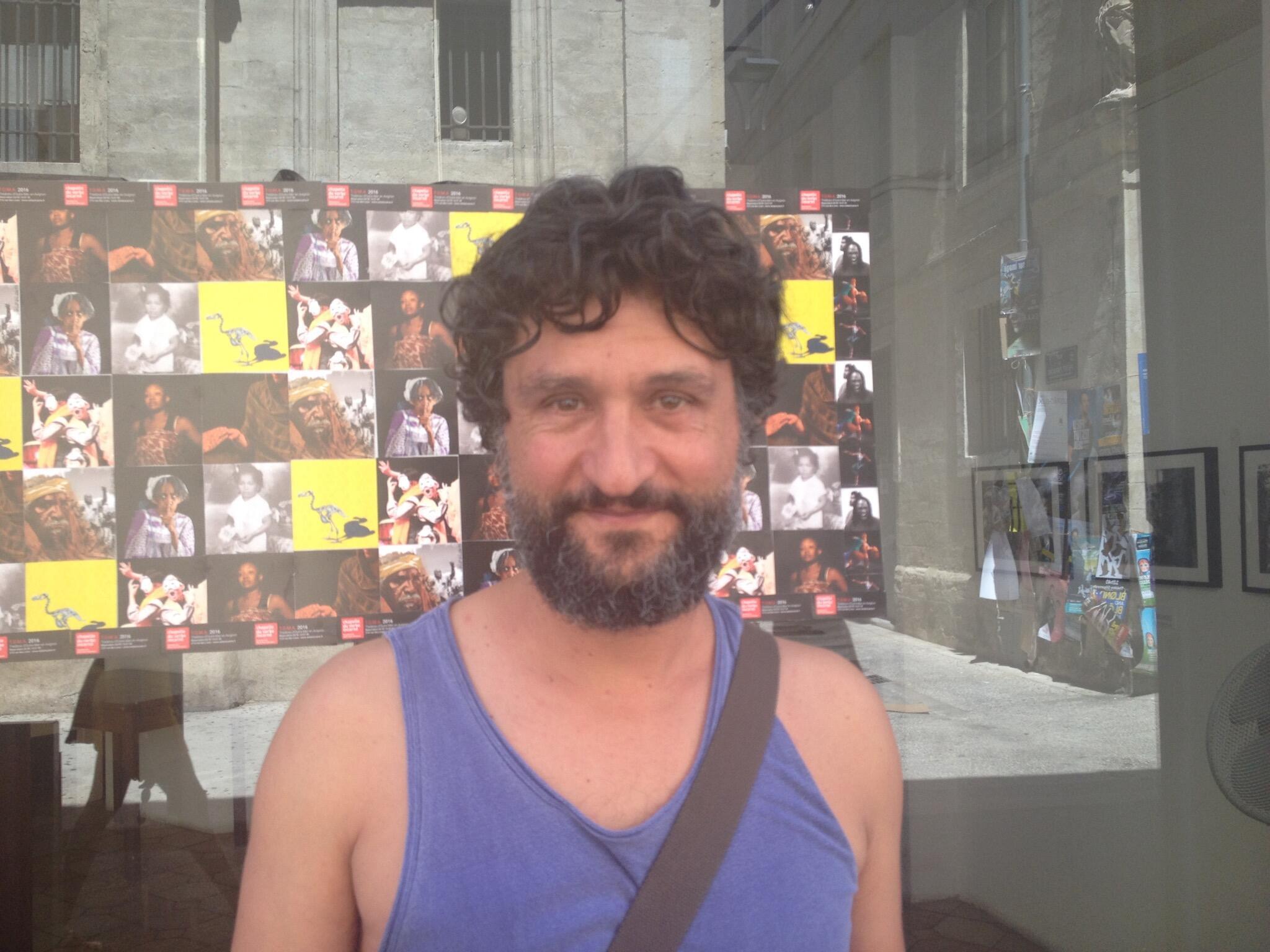 """Paulo Duarte, marionetista português espetáculo """"La Vie des Formes""""- Avignon"""