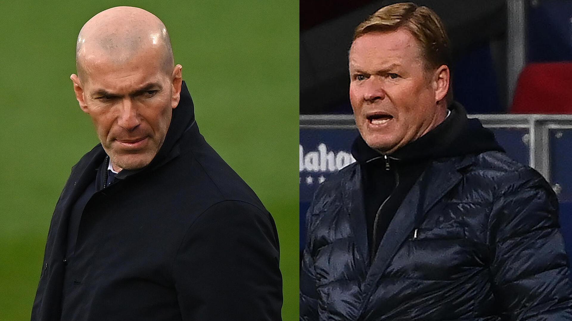 Football - Montage -  Zidane_Koeman - Radio foot internationale