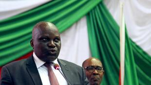 Spika wa Bunge la Burundi, Pascal Nyabenda.