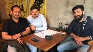 Muhammed, Alistair et Abdulwahed, ensemble pour un «Clean Start».