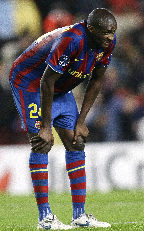 L'Ivoirien Yaya Touré.