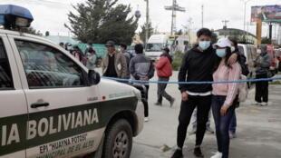 Bolivie - El Alto - Accident - Etudiants - 2021-03-02T200559Z_1754708632_RC283M98QIQ3_RTRMADP_3_BOLIVIA-ACCIDENT