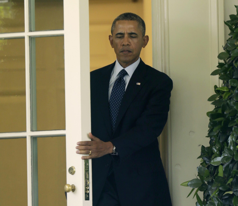 президент США Барак Обама 11 июня, 2014