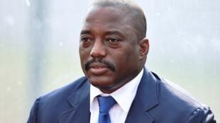 Le président de la République démocratique du Congo Joseph Kabila, le 3 février 2015.