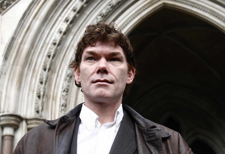 O hacker escocês Gary McKinnon, 46 anos