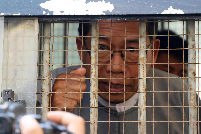 Miến Điện: Aye Maung, sau khi bị kết án 20 năm tù. Ảnh chụp ngày 19/03/2019