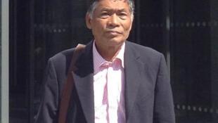Jaran Ditapichai, leader des «chemises rouges», a quitté la Thaïlande quand les militaires ont pris le pouvoir à Bangkok.