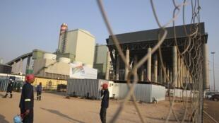 La centrale à charbon de Medupi, en Afrique du Sud, le jour de son inaugration, le 30 août 2015.