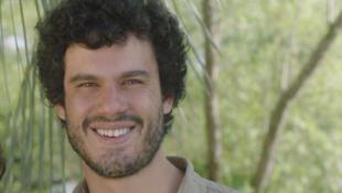 O cineasta Fellipe Barbosa.