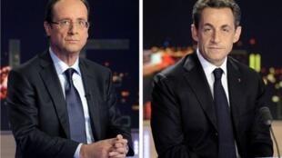 François Hollande et Nicolas Sarkozy se retrouvent ce 2 mai pour le duel d'entre-deux-tours.