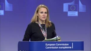 مایا کوسیانچیچ، سخنگوی مسئول سیاست خارجی اتحادیۀ اروپا