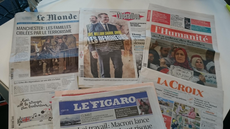 Diários franceses 23.05.2017