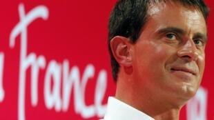 Manuel Valls, le Premier ministre français,  le 31 août à La Rochelle.