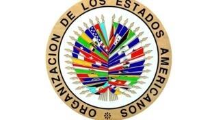 Logo de la OEA.