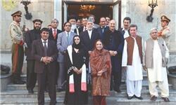 دیدار هیئت مشرانوجرگه پاکستان در افغانستان