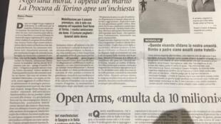 A história de Beauty vem sendo amplamente mostrada na mídia italiana.