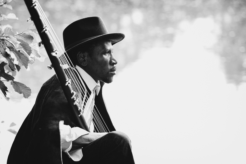 Le bluesman malien Abou Diarra.