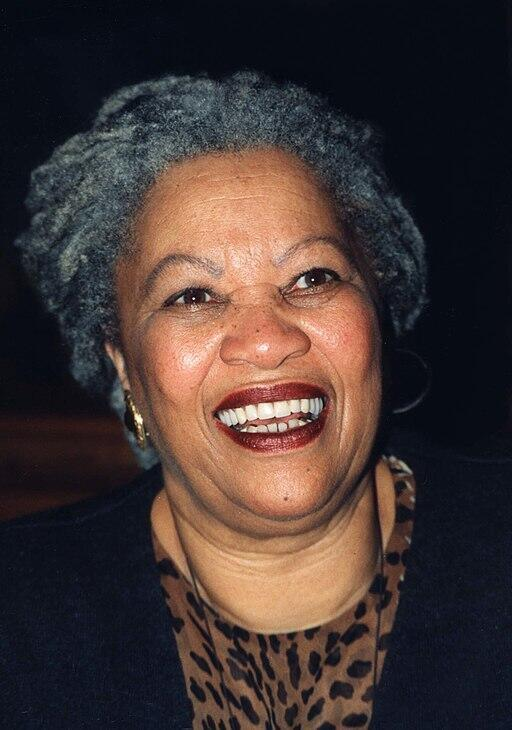 Acclaimed American author Toni Morrison, at the Enoch Pratt Library January 29, 1998.
