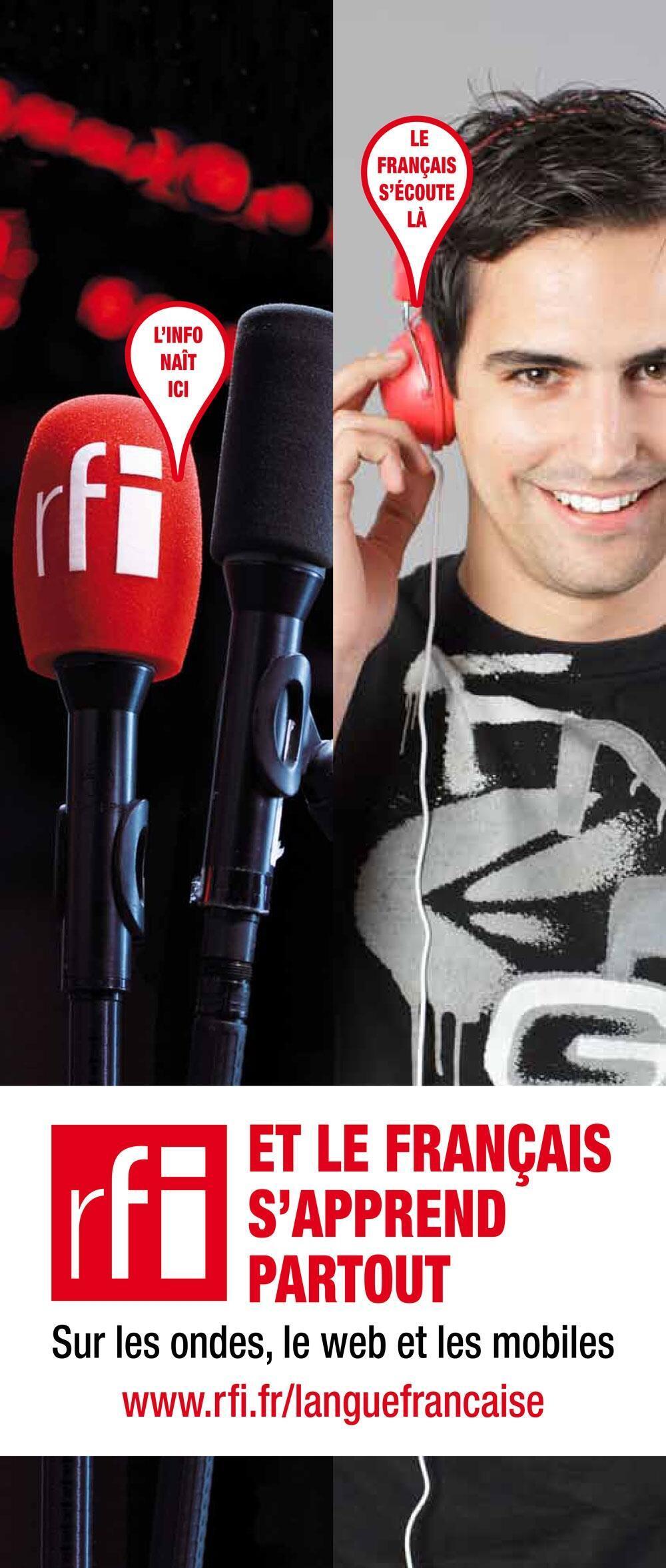 RFI, PARTENAIRE RADIO EXCLUSIF DU SALON « EXPOLANGUES »