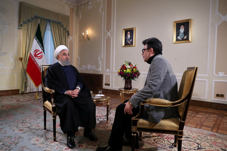 حسن روحانی، رئیس جمهوری اسلامی در گفتگوی تلویزیونی دوشنبه شب، ۲ بهمن/۲۲ ژانویه