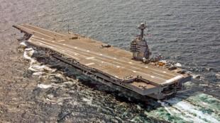 Hàng không mẫu hạm đời mới nhất của Mỹ, USS Gerald Ford.