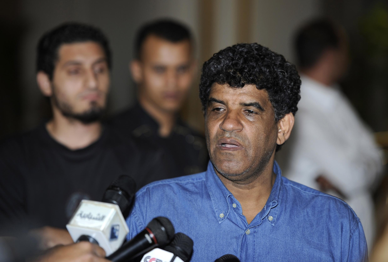 Abdalá al Sanusi, ex brazo derecho de Kadafi, detenido en Mauritania el 17 de marzo de 2012.