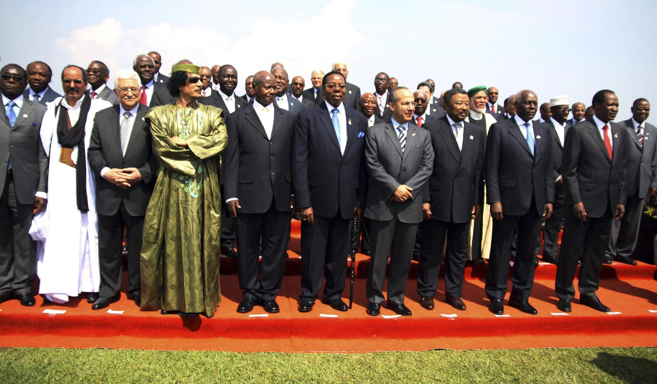 Abertura da Cimeira da UA em Campala, a 25 de Julho de 2010