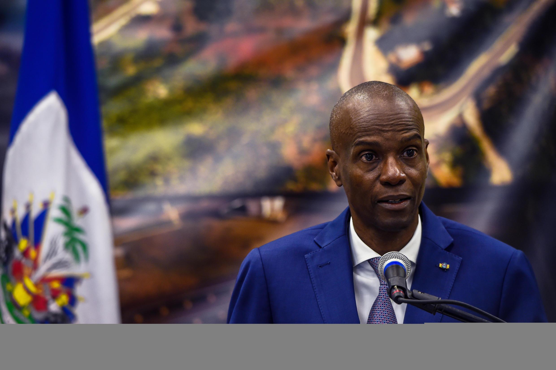 Le présidenti haïtien Jovenel Moïse est mort le 7 juillet 2021.