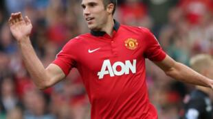 Robin Van Persie enzi hizo akiitumikia Manchester united ya Uingereza
