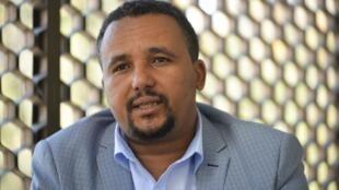 Jawar Mohammed, représentant de la frange nationaliste Oromo éthiopienne, le 25 octobre 2019.
