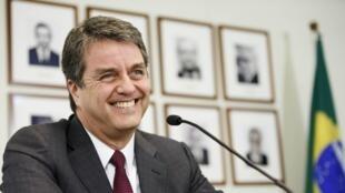 El director de la OMC, el brasileño Roberto Azevedo, en Ginebra, el 8 de mayo de 2013.