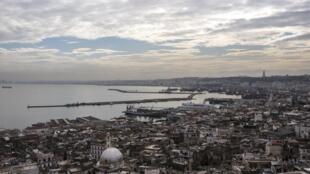 Vue de la vieille ville d'Alger.