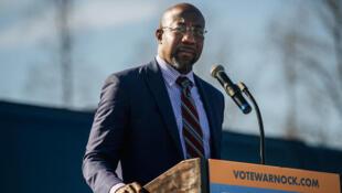 Raphael Warnock, mshindi wa kiti cha Senate katika jimbo la Georgia nchini Marekani