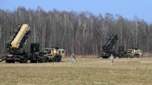 L'armée américaine lors d'un exercice avec des troupes polonaises, le 21 mars, à Sochaczew.