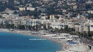 Nice's seafront is a magnet for tourists