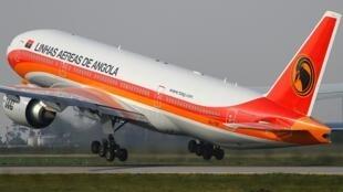 Avião da companhia angolana TAAG