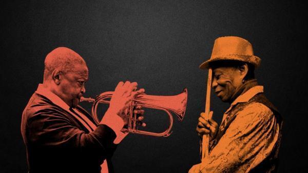 Hugh Masekela & Tony Allen.