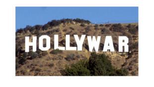 Couverture du livre de Pierre Conesa, «Hollywar. Hollywood, arme de propagande massive».