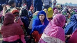 'Yan Rohingya kusan miliyan guda ne yanzu haka ke gudun hijira a Bangladesh