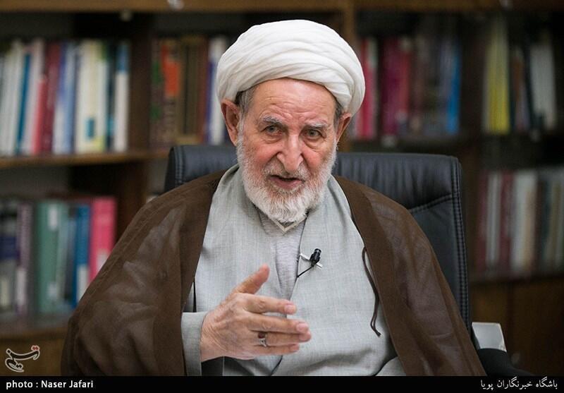 شیخ محمد یزدی عضو فقهای شورای نگهبان قانون اساسی جمهوری اسلامی ایران
