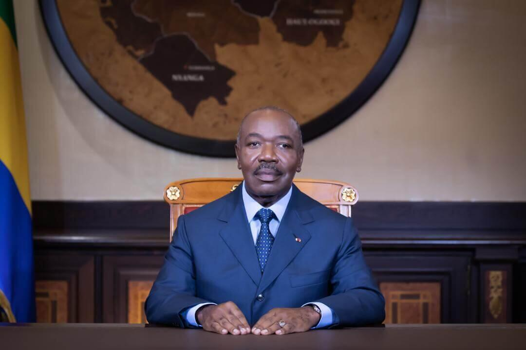 Le président de la République Ali Bongo, le 16 août 2020, lors de son discours pour les 60 ans de l'indépendance du Gabon.