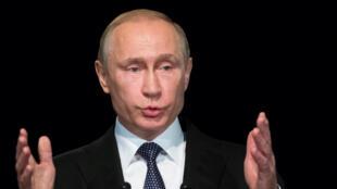 La Russie du président Vladimir Poutine est très critique vis-à-vis de l'Otan.