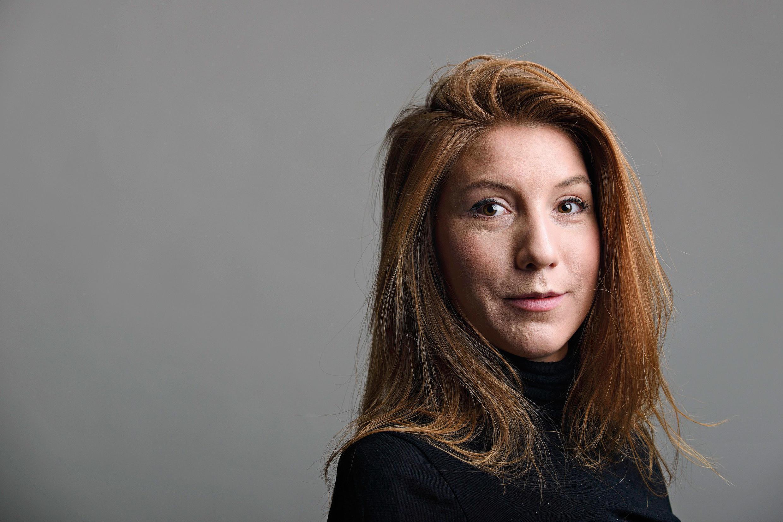 Журналистка Ким Валль