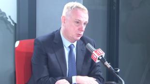 Le général Jérôme Pellistrandi, dans les locaux de RFI, vendredi 11 juin 2021.