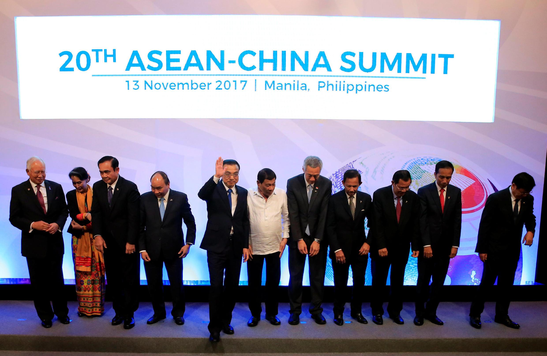 Thượng đỉnh ASEAN-Trung Quốc tại Manila, 13/11/2017
