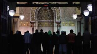 La mosquée d'Al-Azhar au Caire.