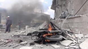 Dans la province d'Idleb, l'armée syrienne a pris le contrôle de 140 villes et villages depuis le 24 janvier dernier, selon l'Observatoire syrien des droits de l'homme (OSDH).